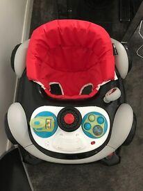 Baby sports car walker