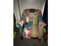 'Shout' Armchair by DFS with pillow- fantastic condition