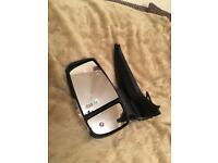 Genuine ford n/s , passengers side electric wing mirror.
