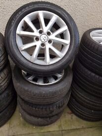 Audi Skoda Vw VAG 16'' Alloy Wheels Can Sell Singles Part Exchange Welcome