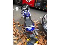 Honda CBR125 - Long MOT