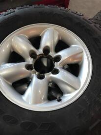 Off road wheels (mud tyres, all terrain, jeep, 4x4, l200, pickup)