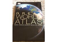 Great World Atlas in immaculate condition