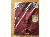 Aston Villa long sleeve training top/jumper XXL BNWT price tag £75.