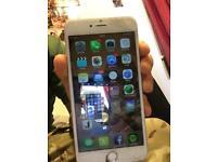 Iphone 6 plus 16GB unlocked working (damaged)