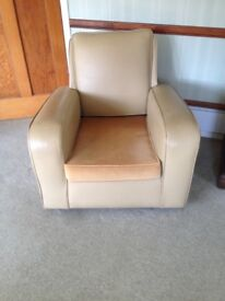 1930's Leather Armchairs