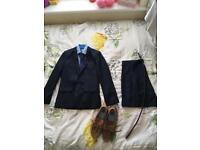 Boys suit from Debenhams