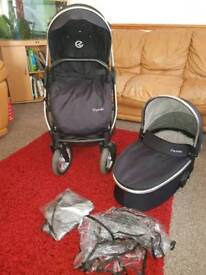 Oyster Max Pushchair and carry cot
