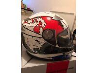 Helmet and jacket set- motorbike- Medium! Never worn!!