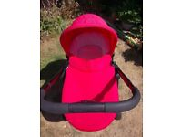 ICandy Strawberry 2 with Maxi Cosi car sest