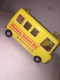 Sylvanian mini school bus
