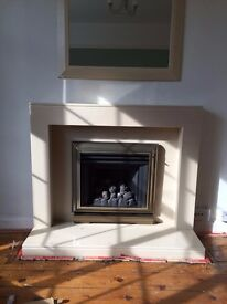 Ceramic Fireplace Frame