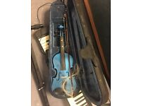 Rainbow Fantasia Blue Violin