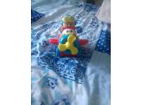 LITTLE TIKES AREOPLANE AND FIGURE