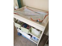Ikea baby changing table, white