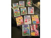 Pepoa Pig DVD's