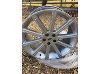 "Range Rover 22"" stormer wheels x 4"