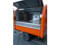 Mobile Catering Trailer Sweets Trailer Hot Dog Ice Cream Cart 2300x1650x2300