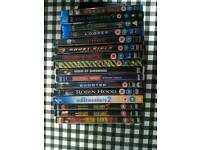 Mix of Dvds