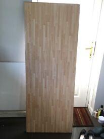 Beech block laminated worktop 1.5m