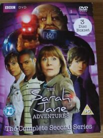 Sarah Jane Adventures - The Complete Second Series - 3 DVD Set