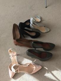 Bundle of shoes size 6