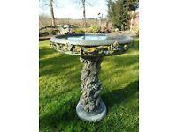 Stone Garden Bird Table