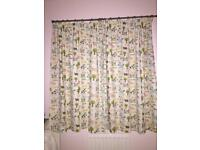 Nursery curtains and bedding