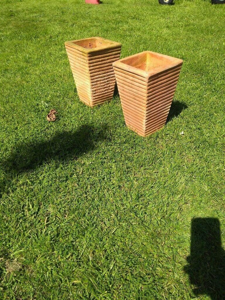 Terracotta plant pot, planter, garden pot