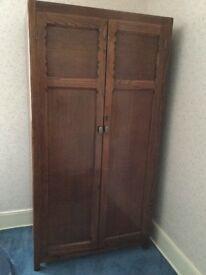 1950's Gentleman's wardrobe, excellent condition.