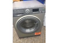 BIG LOAD 9KG HOTPOINT WASHING MACHINE & DRYER, NEW MODEL (4 months warranty)