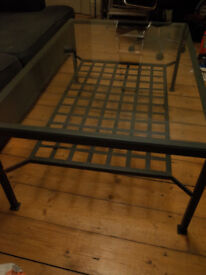 IKEA Glass & Metal Coffee table