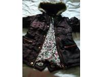 Girls coat 5 - 6 years