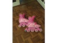 Girl Rollerblades