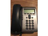Cisco CP-7962G IP Phone Handset and 7911 handset