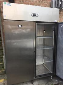 Large Commercial Double Fridge Foster