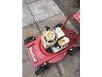 old type petrol mountfeild lawnmower unable to start