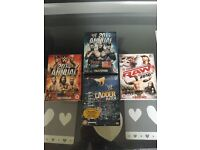 Collection of WWE dvds