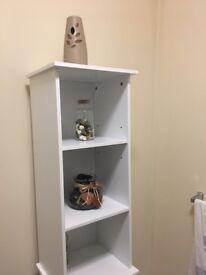 White Bathroom Shelf / Organiser