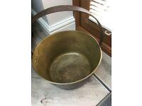 Vintage Copper Jam Pan / Cauldron