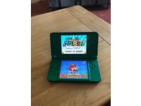 nintendo DSi XL with over 250 games