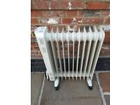 Free Standing Oil Filled Radiators- In Full Working Used Condition