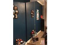 Ikea mirrored wardrobe-free