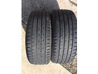 215/45 R17 Tyres x2