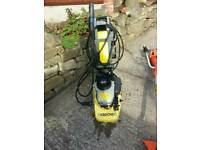 Karcher petrol pressure washer