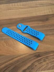 Fitbit HR 2 Charge Straps Bright Blue (£1 postage if needed)