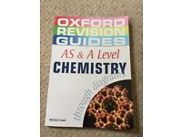 AS & A Level Chemistry Oxford Revision Guide Book