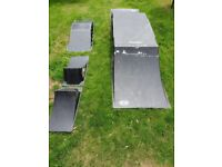Skateboard Ramps - various sizes suitable for Skateboards, Scooters or BMX's