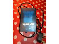 Soundlab white strobe light - £3