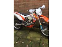 KTM 450 EXC 2014 ROAD REGISTERED